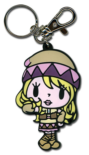 Tiger & Bunny Karina Sd Pvc Keychain, an officially licensed product in our Tiger & Bunny Key Chains department.