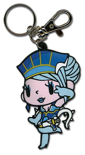 Tiger & Bunny - Blue Rose Sd Pvc Keychain, an officially licensed product in our Tiger & Bunny Key Chains department.