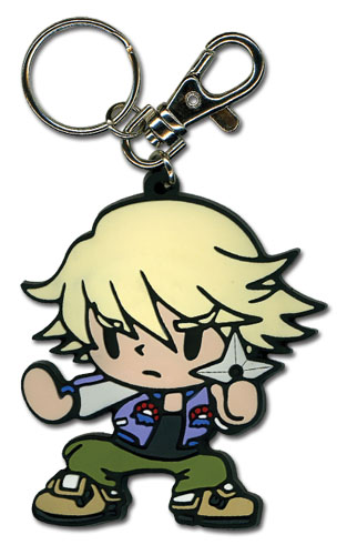 Tiger & Bunny Ivan Sd Pvc Keychain, an officially licensed product in our Tiger & Bunny Key Chains department.