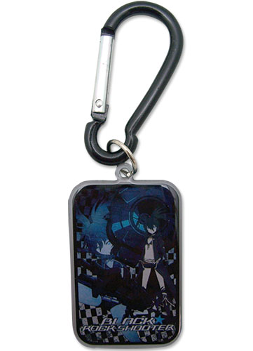Black Rock Shooter Black Rock Shooter Keychain, an officially licensed Black Rock Shooter product at B.A. Toys.