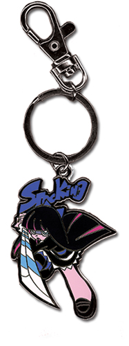 Panty & Stocking Stocking Metal Keychain officially licensed Panty & Stocking Key Chains product at B.A. Toys.