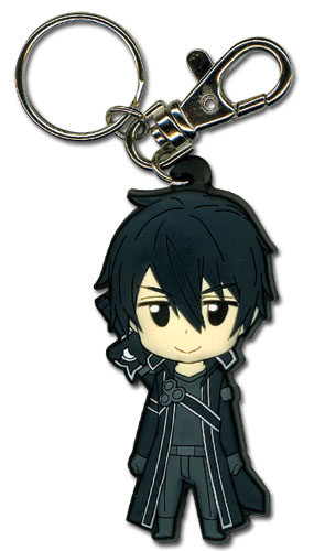 Sword Art Online Kirito Pvc Keychain, an officially licensed product in our Sword Art Online Key Chains department.