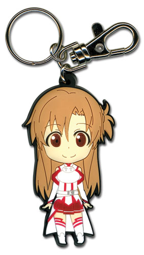 Sword Art Online Asuna Pvc Keychain, an officially licensed product in our Sword Art Online Key Chains department.
