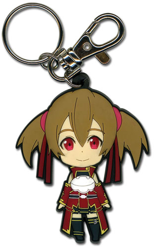 Sword Art Online Sillica Pvc Keychain, an officially licensed product in our Sword Art Online Key Chains department.