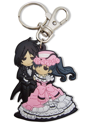 Black Butler Sebastian & Ciel Dance Pvc Keychain, an officially licensed product in our Black Butler Key Chains department.