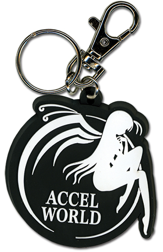 Accel World Logo Pvc Keychain, an officially licensed product in our Accel World Key Chains department.