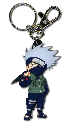Naruto Shippuden Sd Kakashi Pvc Keychain, an officially licensed product in our Naruto Shippuden Key Chains department.
