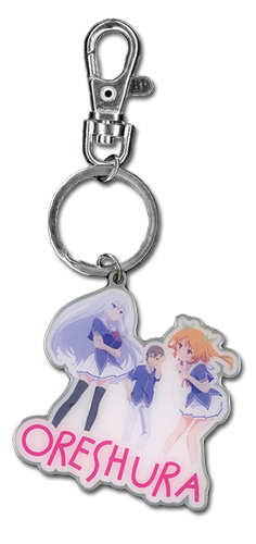 Oreshura Group Metal Keychain, an officially licensed product in our Oreshura Key Chains department.