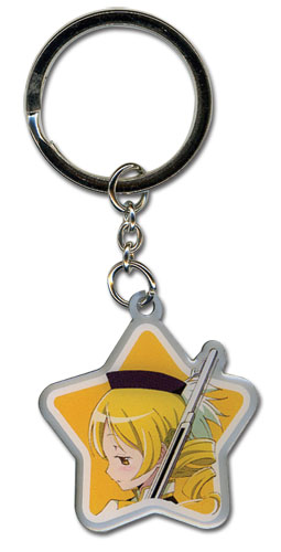 Madoka Magica Movie Mami Metal Keychain, an officially licensed product in our Madoka Magica Key Chains department.