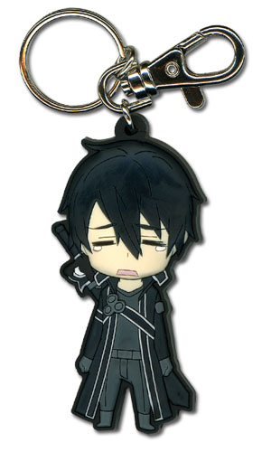 Sword Art Online - Crying Kirito Sd Pvc Keychain, an officially licensed product in our Sword Art Online Key Chains department.