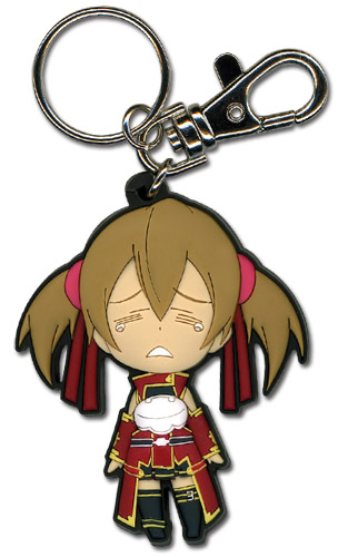 Sword Art Online Crying Silica Sd Pvc Keychain, an officially licensed product in our Sword Art Online Key Chains department.