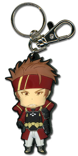 Sword Art Online Angry Klein Sd Pvc Keychain officially licensed Sword Art Online Key Chains product at B.A. Toys.