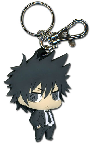 Psycho Pass - Shinya Kagami Sd Pvc Keychain, an officially licensed product in our Psycho-Pass Key Chains department.