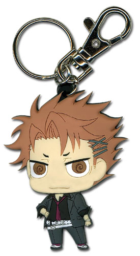 Psycho Pass - Shusei Kagari Sd Pvc Keychain, an officially licensed product in our Psycho-Pass Key Chains department.