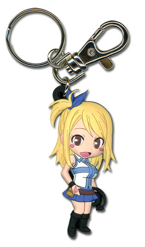 Fairy Tail - Sd Lucy S2 Lucy S2 Pvc Keychain, an officially licensed product in our Fairy Tail Key Chains department.