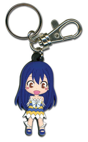 Fairy Tail - Sd Wendy Pvc Keychain, an officially licensed Fairy Tail product at B.A. Toys.