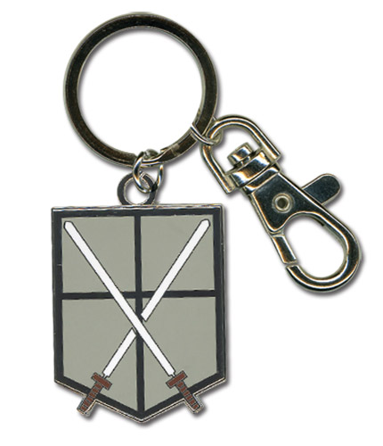 Attack On Titan - 104Th Trainees Squad Emblem Keychain, an officially licensed Attack On Titan product at B.A. Toys.