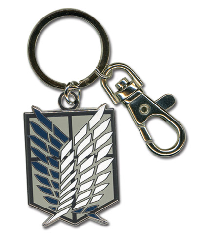 Attack On Titan - Scouting Legion Emblem Keychain, an officially licensed product in our Attack On Titan Key Chains department.