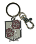 Attack On Titan - Stationary Guard Emblem Keychain, an officially licensed product in our Attack On Titan Key Chains department.