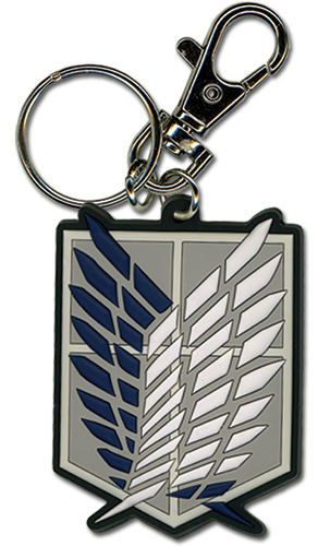 Attack On Titan - Scout Regiment Pvc Keychain, an officially licensed product in our Attack On Titan Key Chains department.