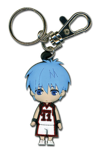 Kuroko's Baseket Kuroko Sd Pvc Keychain, an officially licensed product in our Kuroko'S Basketball Key Chains department.