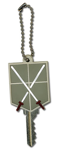 Attack On Titan - Cadet Corps Keycap, an officially licensed product in our Attack On Titan Key Chains department.