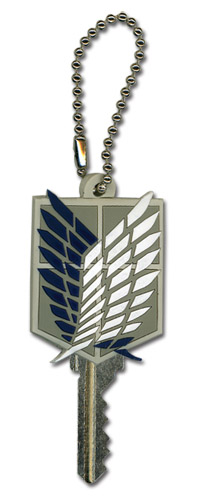 Attack On Titan - Scout Regiment Kepcap, an officially licensed Attack on Titan Key Chain