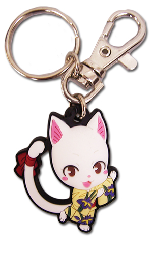 Fairy Tail - Sd Carla Yukata Pvc Keychain, an officially licensed product in our Fairy Tail Key Chains department.