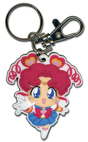 Sailor Moon - Sailor Chibi Chibi Moon Pvc Keychain, an officially licensed product in our Sailor Moon Key Chains department.