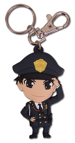 Samurai Flamenco - Sd Hidenori Pvc Kaychain, an officially licensed product in our Samurai Flamenco Key Chains department.