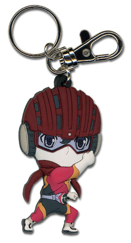 Samurai Flamenco - Sd Samurai Flamenco 1 Pvc Keychain, an officially licensed product in our Samurai Flamenco Key Chains department.