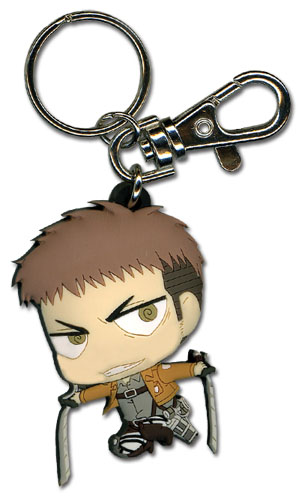Attack On Titan - Sd Jean Pvc Ketchain, an officially licensed Attack on Titan Key Chain