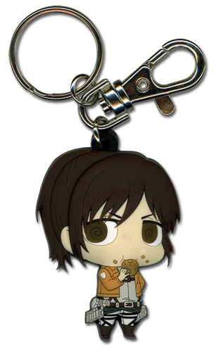 Attack On Titan - Sd Sasha Pvc Keychain, an officially licensed Attack on Titan Key Chain