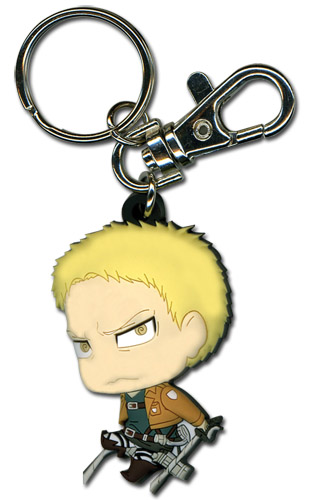 Attack On Titan - Sd Reiner Pvc Keychain, an officially licensed product in our Attack On Titan Key Chains department.