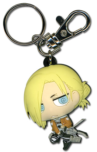 Attack On Titan - Sd Annie Keychain, an officially licensed product in our Attack On Titan Key Chains department.