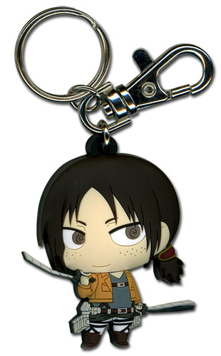 Attack On Titan - Sd Ymir Pvc Keychain, an officially licensed Attack on Titan Key Chain
