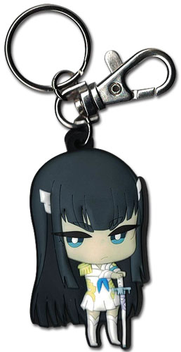 Kill La Kill - Sd Satsuki Pvc Keychain, an officially licensed product in our Kill La Kill Key Chains department.