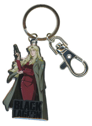 Black Lagoon - Balalaika Keychain, an officially licensed product in our Black Lagoon Key Chains department.