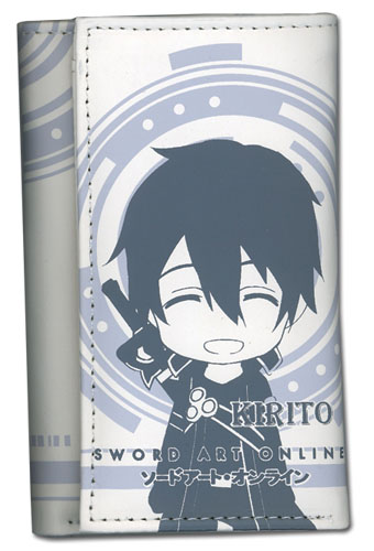 Sword Art Online Sd Kirito Keyholder Wallet officially licensed Sword Art Online Key Chains product at B.A. Toys.