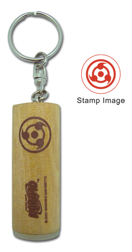 Naruto Stamp Key Chain, an officially licensed product in our Naruto Key Chains department.