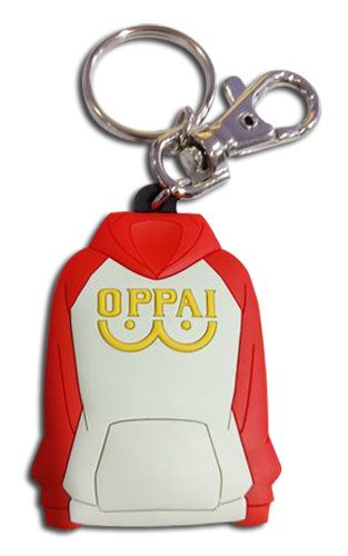 One Punch Man - Oppai Jacket Pvc Keychain, an officially licensed product in our One-Punch Man Key Chains department.