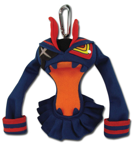 Kill La Kill - Senketsu Plush Keychain 5'', an officially licensed product in our Kill La Kill Key Chains department.