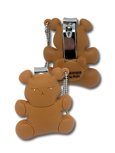 Ouran High School Host Club - Bear Pvc Nail Clipper Keychain, an officially licensed product in our Ouran High School Host Club Key Chains department.