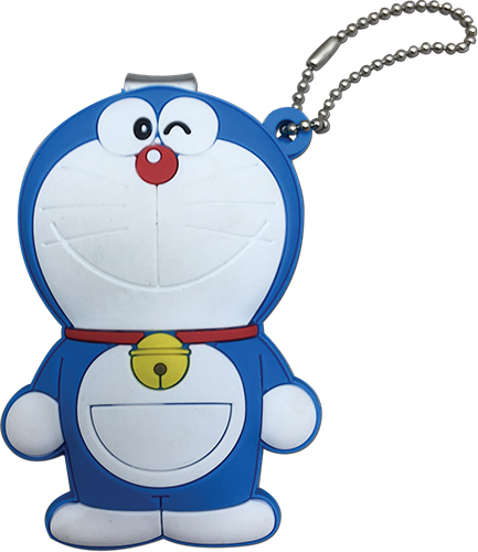 Doraemon - Doraemon Pvc Nail Clipper Keychain, an officially licensed product in our Doraemon Key Chains department.