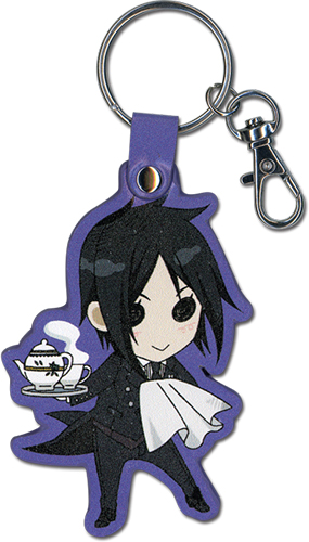 Black Butler - Sd Sebastian Pu Keychain, an officially licensed product in our Black Butler Key Chains department.
