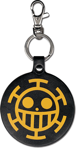 One Piece - Heart Skull Pu Keychain, an officially licensed product in our One Piece Key Chains department.