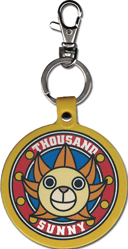 One Piece - Sunny Pu Keychain, an officially licensed product in our One Piece Key Chains department.