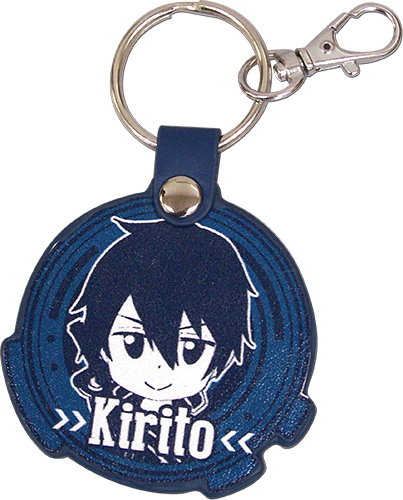 Sword Art Online - Kirito Sd Pu Keychain, an officially licensed product in our Sword Art Online Key Chains department.