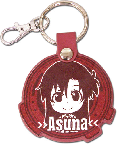 Sword Art Online - Asuna Sd Pu Keychain, an officially licensed product in our Sword Art Online Key Chains department.