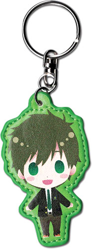 Free! - Sd Makoto Pu Keychain, an officially licensed product in our Free! Key Chains department.